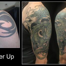 OL-INK Oldenburg Tattoo Cover-up